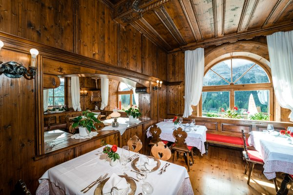 Das Restaurant Prags Mountain Refugium Hohe Gaisl