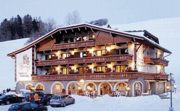 Foto invernale di presentazione Edelweiss - Hotel 3 stelle sup.