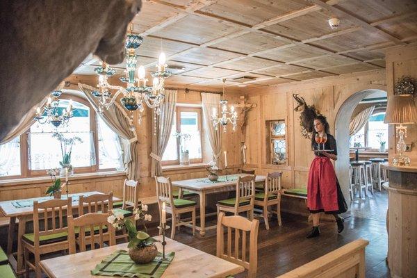 The restaurant Braies di Fuori / Außerprags (Valle di Braies / Pragsertal) Edelweiss