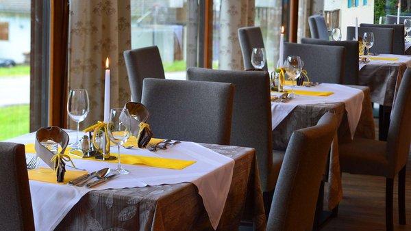 The restaurant Braies / Prags Trenker