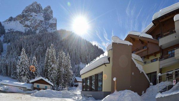 Photo exteriors in winter Trenker