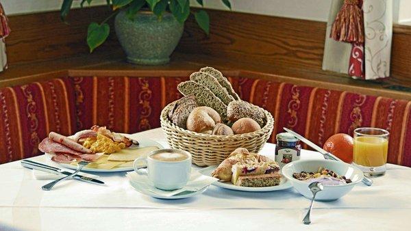 The breakfast Hotel Trenker