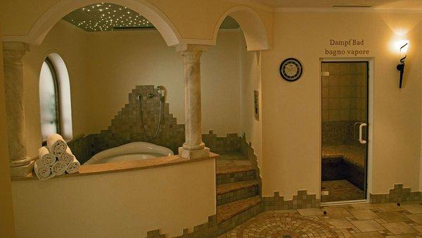 Photo of the wellness area Hotel Trenker