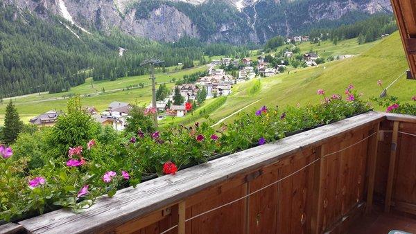 Foto vom Balkon Dolomieu