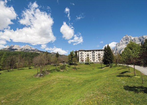 Position Hotel Park Des Dolomites Borca di Cadore