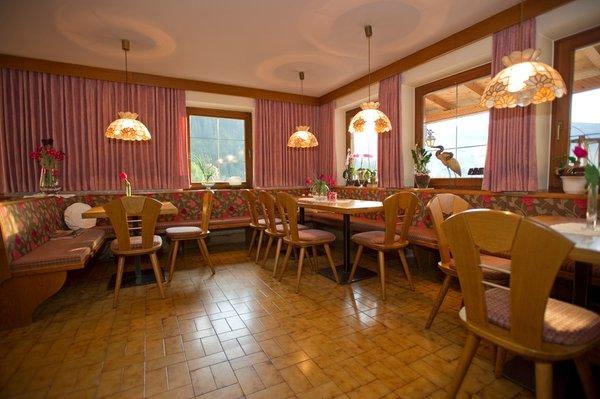 The restaurant Braies di Fuori / Außerprags (Valle di Braies / Pragsertal) Friedl