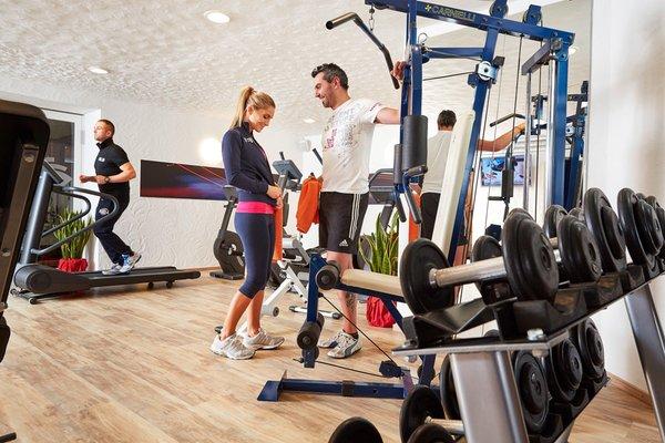 Foto della zona fitness Alpenwellnesshotel St. Veit