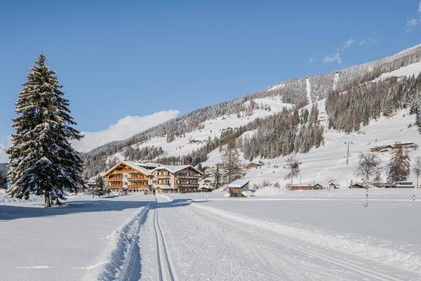 Foto esterno in inverno Waldheim