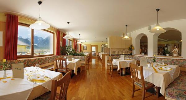 Das Restaurant Sexten - Moos Biovita Hotel Alpi