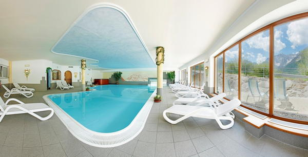 Schwimmbad Biovita Hotel Alpi