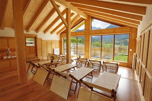 Foto vom Wellness-Bereich Biovita Hotel Alpi