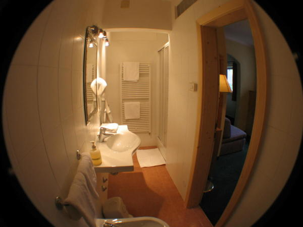 Photo of the bathroom Sextnerhof Family Hotel