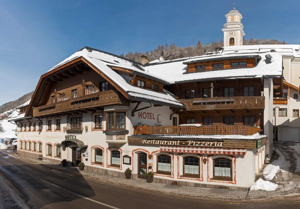 Winter Präsentationsbild Mondschein - Hotel 3 Sterne
