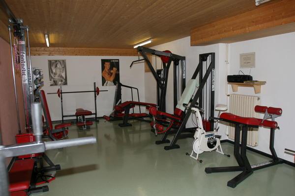 Foto vom Fitness-Bereich Garni-Hotel + Ferienwohnungen Edelweiss