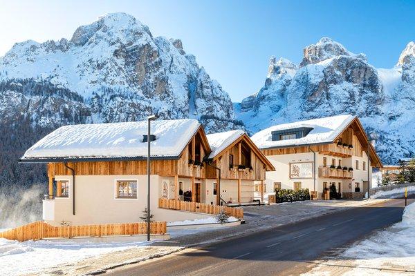 Photo exteriors in winter La Villetta & Chalets 4 Sorus