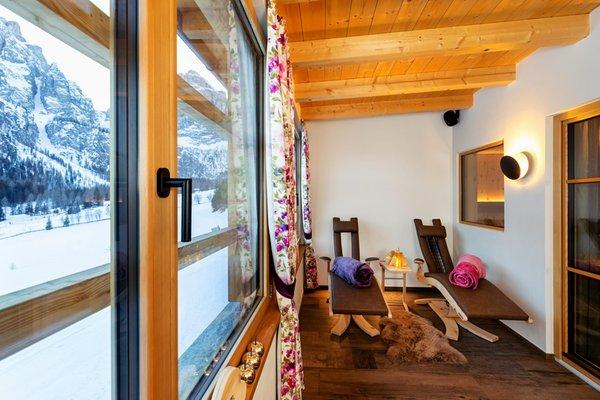 Photo of the wellness area Apartments La Villetta & Chalets 4 Sorus