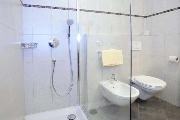 Foto del bagno Garni + Appartamenti Bergland