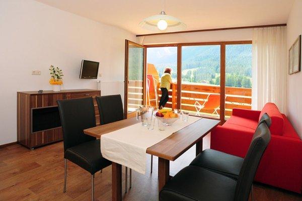 La zona giorno Garni + Appartamenti Bergland - B&B + Appartamenti 3 stelle