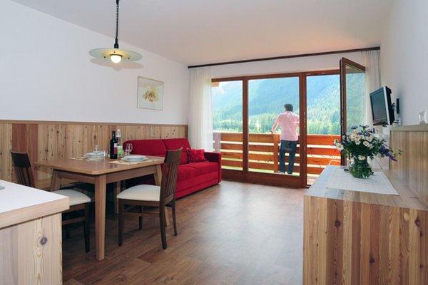 La zona giorno Bergland - Garni (B&B) + Appartamenti 2 stelle