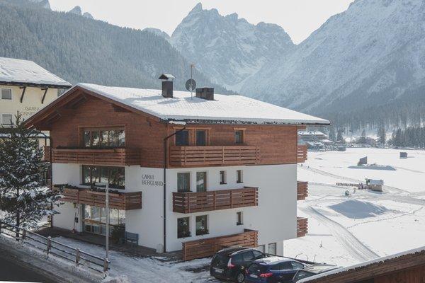 Winter Präsentationsbild Garni + Ferienwohnungen Bergland