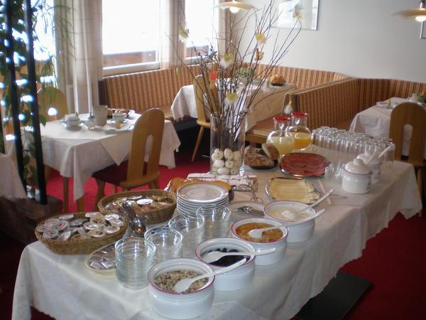 La colazione Bergland - Garni (B&B) + Appartamenti 2 stelle