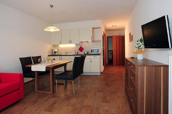 Foto della cucina Garni + Appartamenti Bergland