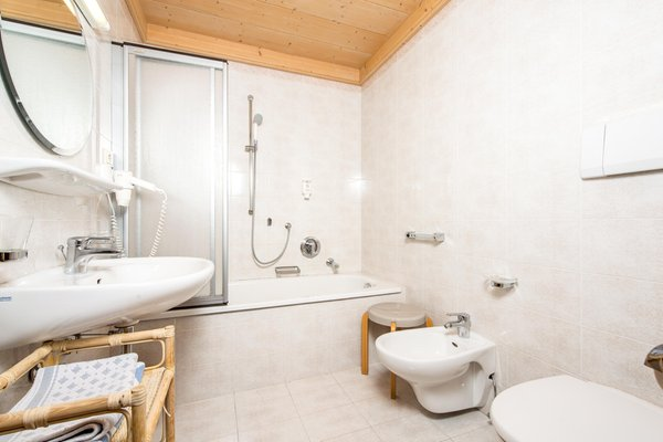 Foto del bagno Residence Floralp