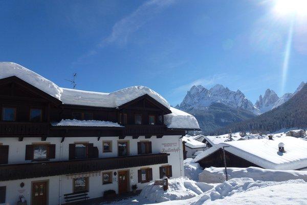 Foto esterno in inverno Rudlerhof & Chalet Rudana