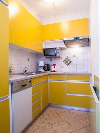 Foto della cucina Rudlerhof & Chalet Rudana
