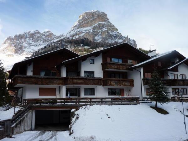 Foto invernale di presentazione Appartamenti Ciasa Gabriel