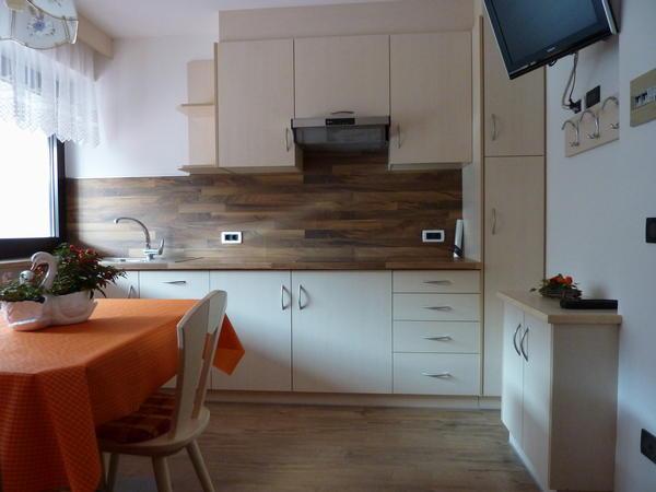 Foto della cucina Ciasa Gabriel