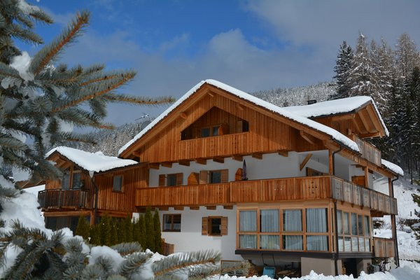 Foto invernale di presentazione Haus Ortner - Camere + Appartamenti 2 soli