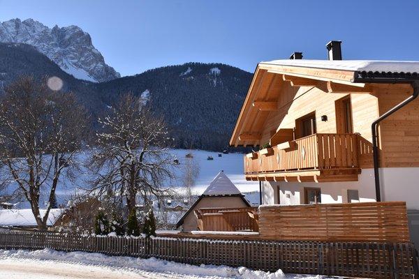 Foto Außenansicht im Winter Haus Oberpauler