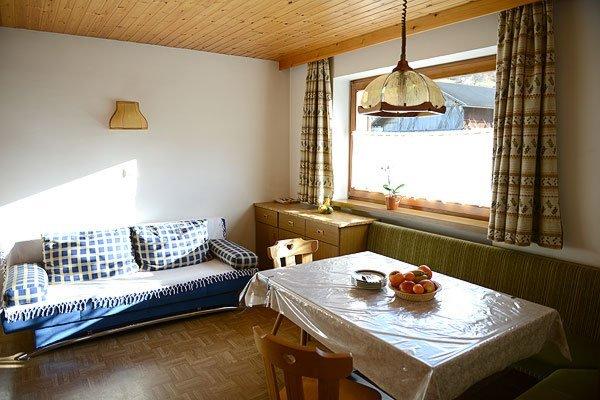The living area Farmhouse apartments Weberhof