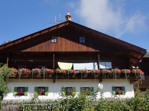 Foto esterno in estate Innerrauthof