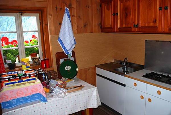 Foto der Küche Innerrauthof