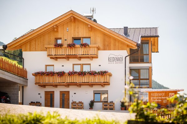 Foto estiva di presentazione Reidenhof - Appartamenti in agriturismo 3 fiori