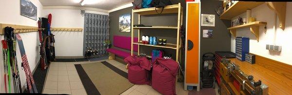 La skiroom Appartements Barbara