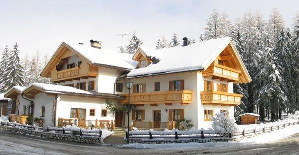Foto invernale di presentazione Appartements Barbara