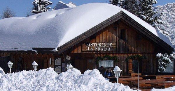 Foto Außenansicht im Winter La Fraina