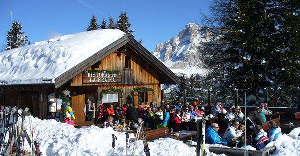 Winter Präsentationsbild Berghütte La Fraina