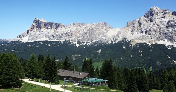 Lage Berghütte La Fraina La Villa