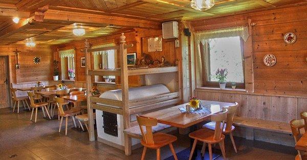 Foto der Stube Berghütte La Fraina