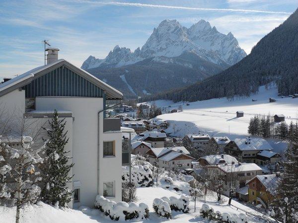 Foto invernale di presentazione Appartamenti Mayr