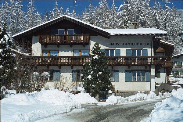 Winter Präsentationsbild Ferienwohnungen Haus Schmiedhofer