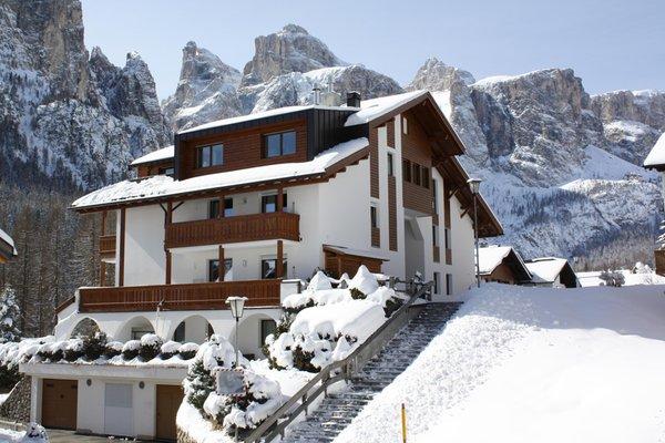 Foto invernale di presentazione Pera Ciaslat - Appartamenti 3 soli