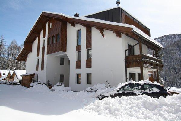 Foto esterno in inverno Pera Ciaslat