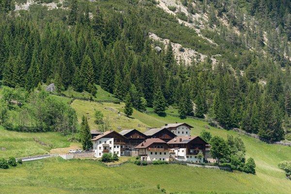 Lage Ferienwohnungen Ai Sanc' Corvara
