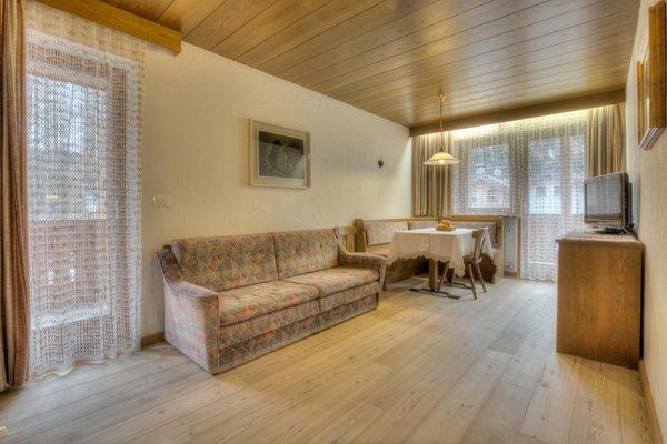 Der Wohnraum Ferienwohnungen Haus Albertini