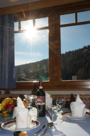 The restaurant San Cassiano Vajolet